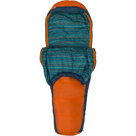 Marmot Banzai Trestles 35 Sacos de dormir Normal Niños, mandarin orange/denim
